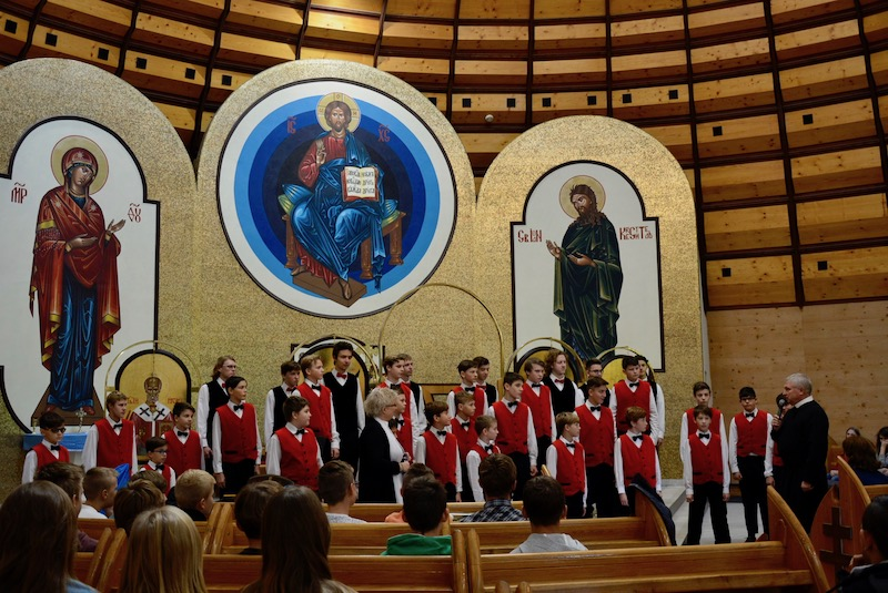 Koncert chlapčenského speváckeho zboru Bonifantes